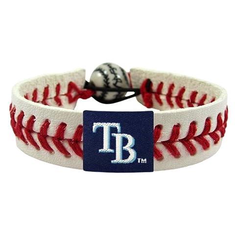 Caseys Distributing 5224600108 Tampa Bay Devil Rays Classic Baseball Bracelet