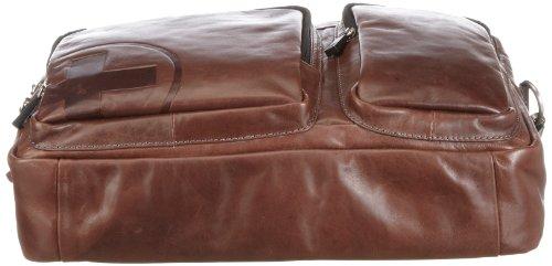 Strellson Jones soft-briefcase 4010000121 Herren Henkeltaschen 40x29x10 cm (B x H x T) Braun (dark brown 702)