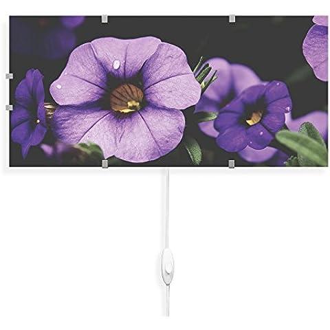 banjado–Lámpara de pared 56cmx26cm Diseño Lámpara de pared Lámpara LED con cambio Disco y diseño