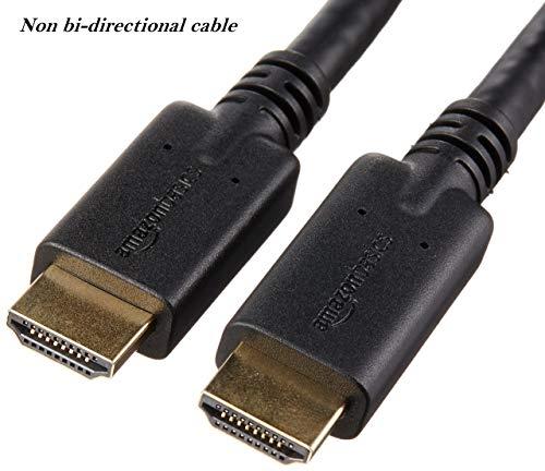 AmazonBasics - Hochgeschwindigkeits-HDMI-Kabel, mit RedMere-Technologie, 10,7 m