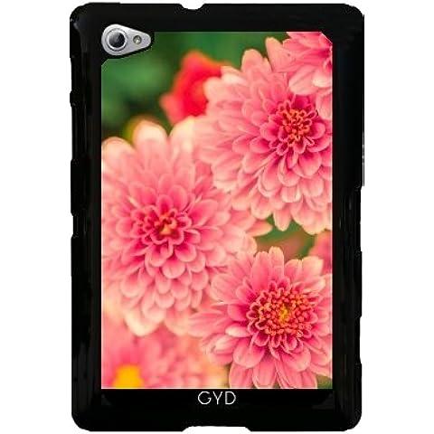 Funda para Samsung Galaxy Tab P6800 - Dalias Rosadas Flores Floral by Petra