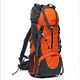 JKLSNMA Scarpe da Trekking Zaino da Esterno 70L Outdoor Resistente all'Acqua Sport Zaino da Trekking Borsa da Campeggio Pacchetto da Viaggio Alpinista Arrampicata Escursione