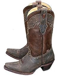 Westernstiefel Henrick Cowboystiefel und Western Boots schwarz