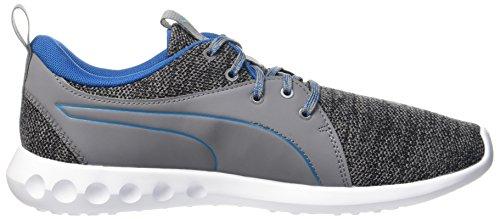 Puma Carson 2 Terrain, Scarpe Sportive Outdoor Uomo Grigio (Quiet Shade-mykonos Blue)