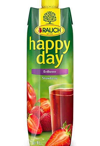 Rauch Happy Day Erdbeere, 6er Pack (6 x 1 l)