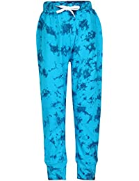 SUPERYOUNG Super Young Trackpant for Boys - Western Wear - Blue Trackpant for Boys - Cotton Material Daily wear Pants - Stylish Trackpant for Boys - Joggers for Boys