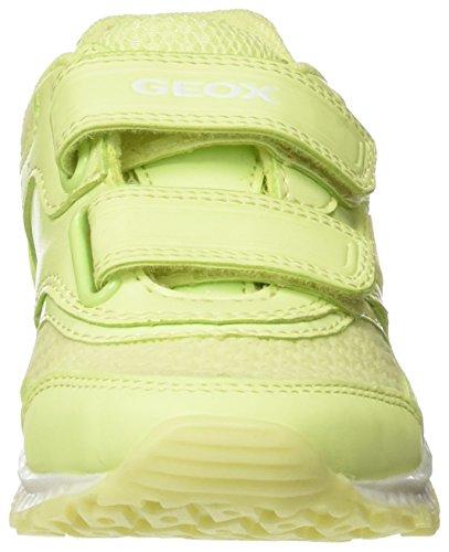 Geox - J Bernie Girl B, Scarpe da ginnastica Bambina Giallo (Fluo Yellowc2001)