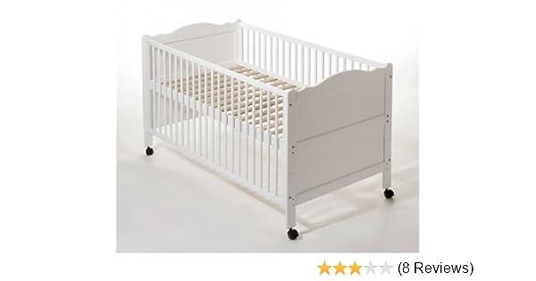 Easy baby 112 02 umbaubett gedrechselt weiß: amazon.de: baby
