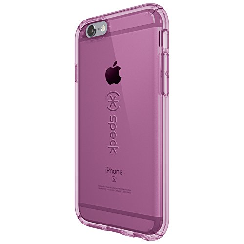 Speck Hard Case Candy Shell für Apple iPhone 6/6S 11,3 cm (4,7 Zoll) clear Beaming Orchid Purple