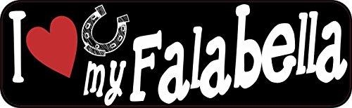 stickertalkr-10inx3in-i-love-my-falabella-bumper-sticker-vinyl-truck-window-decal-sign