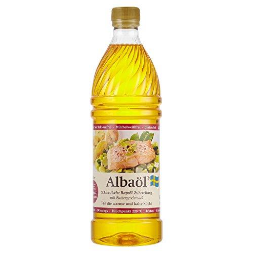 Alba Albaöl-Schwedische Rapsöl-Zubereitung, 750 ml Flasche