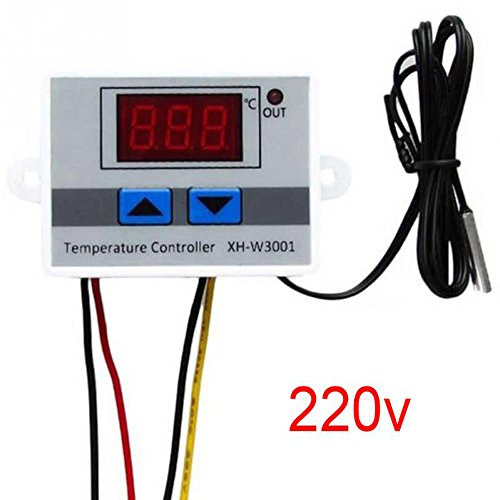 KKmoon XH-W3001 Digital LCD Display Temperaturregler Microcomputer Thermische Regler Thermoelement Thermostat