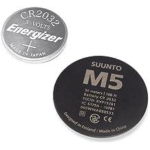 Suunto M5 Battery Replacement Kit - Kit de pila de repuesto, color negro
