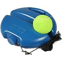 Entrenador de Tenis Individual , Base de Entrenamiento de Pelotas de Tenis con una Cuerda Autoestudio Jugador de Rebote de Tenis con zócalo de Entrenador