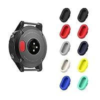 Compatibilità:  Progettato specialmente per Garmin Fenix 5 / 5S / 5X, Forerunner 245/945/935 smart watch.  Specifiche:  * Materiale: Silicone * Colore: Rosso, Rosso, Nero, Nero, Blu, Blu Notte, Bianco, Giallo, Grigio, Verde Menta * Lunghez...