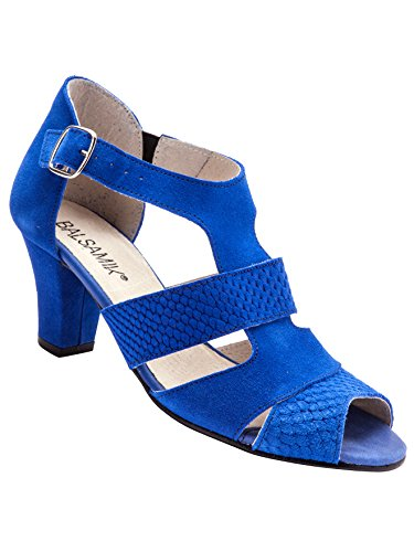 Balsamik - Sandalen - Damen Blau medium dicht