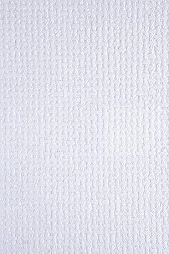 Home Flechtmuster (Netuno 5 Blatt Weiß Dekorpapier, geprägt- Flechtmuster, 180x250mm, handgemacht, 150g, orientalischer Look, ideal für Einladungskarten, Hochzeit, Taufe, Weihnachten, Basteln, Dekorationen)