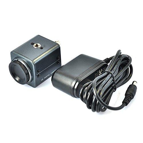 Mini BNC Industrie Mikroskop 800TVL Mikroskop Kamera mit 12V AC Power Adapter Unterstützung Auto Iris C Mount Mikroskop (Bnc-mount)
