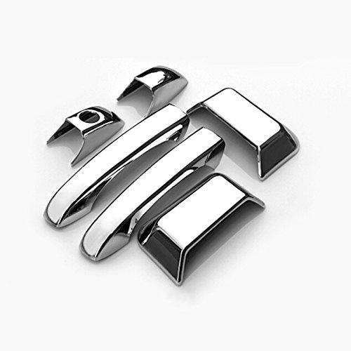 Preisvergleich Produktbild ABS Chrom Seite Tür Griff Surround Abdeckung Trim 6
