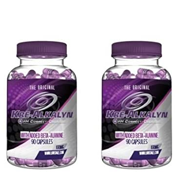 (Pack of 2) The Original KRE-ALKALYN ® With Added Beta-Alanine 90 Capsules Food supplement
