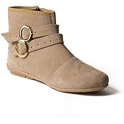 Babes Women and Girls Stylish Beige MPBLS-001-BG Boot (6 UK)
