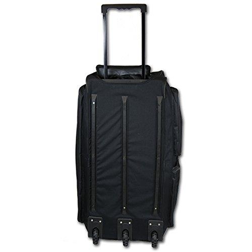 JEMIDI XXXL Reisetasche 160L Sporttasche Trolley XXL Jumbo mit 3 Rollen Tasche Koffer