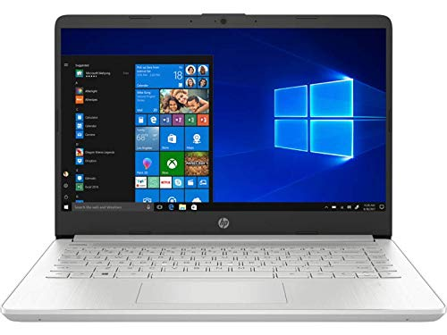 HP 14s-dq0007nl Notebook PC, Core i5-8265U, 8 GB di RAM, SSD da 256, Display 14' FHD antiriflesso IPS, Argento Naturale