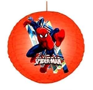 Cartoon Character Childrens Bedroom Ceiling Paper Lantern Light Lamp Shade Kids (SPIDERMAN)