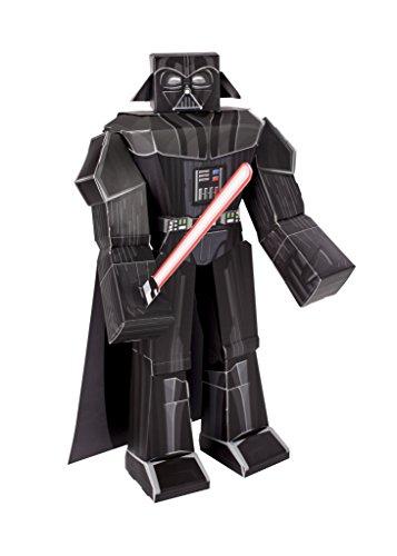 Preisvergleich Produktbild Jazwares 12911 - Blueprints Star Wars Papier Bastelset Darth Vader, groß, 30 cm