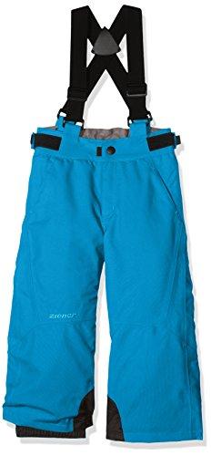Ziener Kinder Ando Jun (Pant Ski) Skihose, Sea, 128