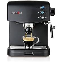 Mini Moka CM-1695 Black - Cafetera espresso, 850 W