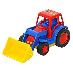 Polesie 9579 Basics Traktor Mit Schaufel