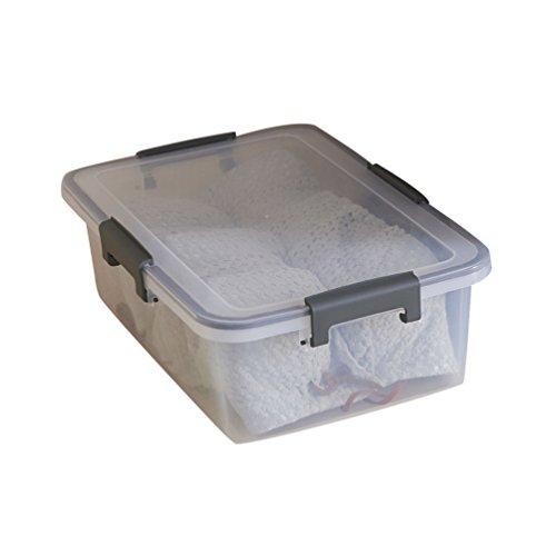 Cayuan Transparent Plastique Boîtes Alimentaires Multifonctionnel Rectangulaire Boîte De Rangement Pour Vêtements