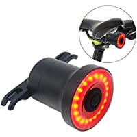Fanale Posteriore Bike - Ultra Luminoso - Smart Sensore LED Ricaricabile Resistente all'acqua - Spia Di Sicurezza in Bicicletta - Fanale Posteriore Sicuro - Per Bici da Strada e Mountain Bike