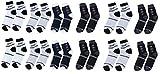 Zacharias Unisex Poly Cotton Socks (Multi-Coloured, Pair of 12)