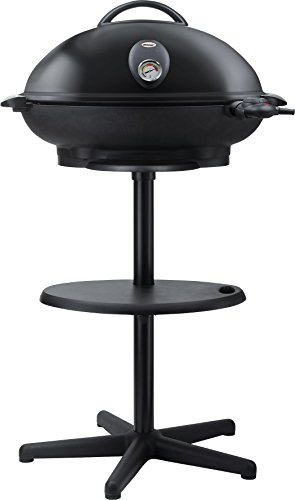 Steba VG 350 BIG Barbecue Säulengrill mit Haube