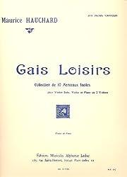 GAIS LOISIRS VIOLON ET PIANO