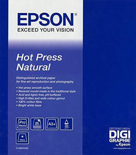Epson C13S042323 Hot press natural 330g/m2 432mm x 15m
