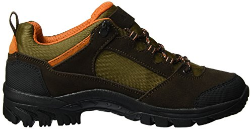Aigle Arven Low Mtd, Chaussures de Randonnée Basses Homme DARKBROWN/ORANGE