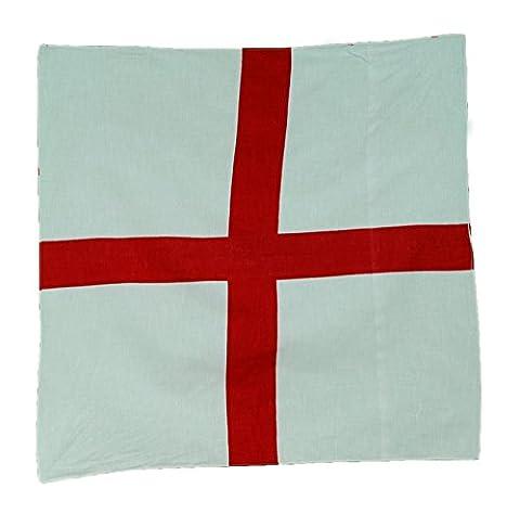 England St. George's Cross/Englische Nationalflagge mit Bandana Kopftuch Schlauchtuch (George Englische Flagge)