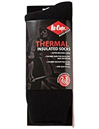 Lee Cooper LEE COOPER THERMAL SOCKS - ONE SIZE - BLACK - Calcetines Térmicos De Los