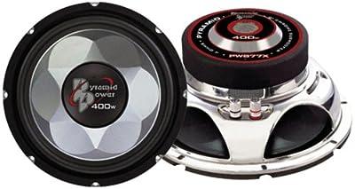 Pyramid PW877X 400W 8 inch Power Mid Bass Driver Car Subwoofer Sub