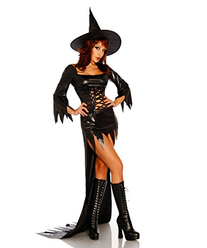 Hexen-Kostüm SALEM WITCH Gr.S-LOne Size