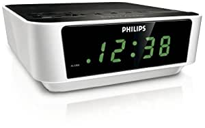 Philips Aj3112 05 Clock Radio White Amazon Co Uk Tv