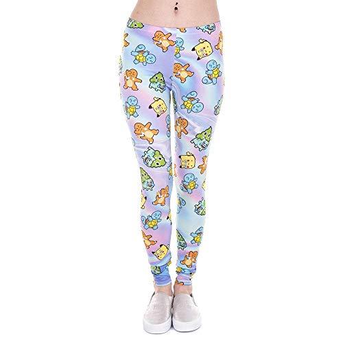 Pantalones De Yoga A Estrenar Leggings Y Moda Mujer Unicornio Leggings De Impresión Fitness Legging Pantalones De Mujer De Cintura Alta (Color : Lga43859, Size : One Size)