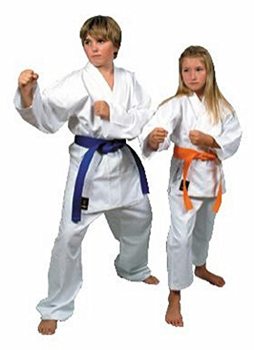 Bruce lee 14blsma026 kimono karate, unisex bambini, bianco, 150 cm