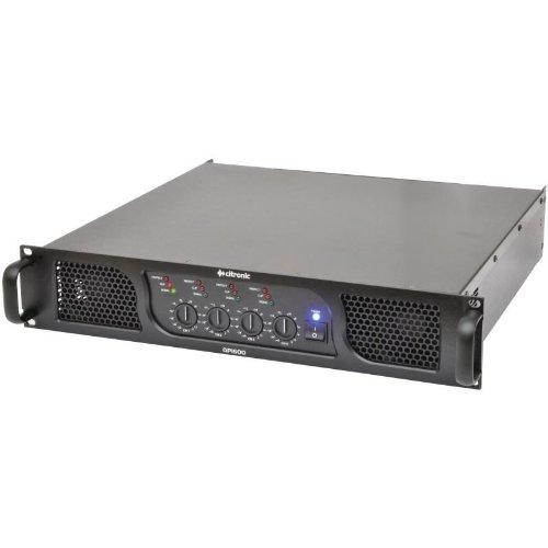 Citronic QP1600 Amplificatore finale di potenza Hi-Fi PA (1600 Watt, segnale bilanciato, XLR)