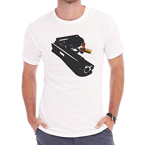 Nice Looking Colt 45 Gun Herren T-Shirt Weiß