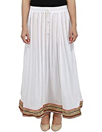 The Jaipur Bazar Long Skirt For Women Free Size
