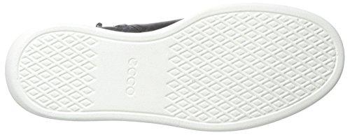 ECCO Soft 4, Scarpe da Ginnastica Alte Donna Nero (Black/white)
